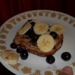 Blueberry Banana French Toast ~ Healthified Breakfast Recipe