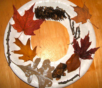 simple fall nature crafts for kids money aving michele. Black Bedroom Furniture Sets. Home Design Ideas