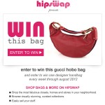 $1500 Red Gucci Leather Hobo Bag Giveaway WW ends 7/23!