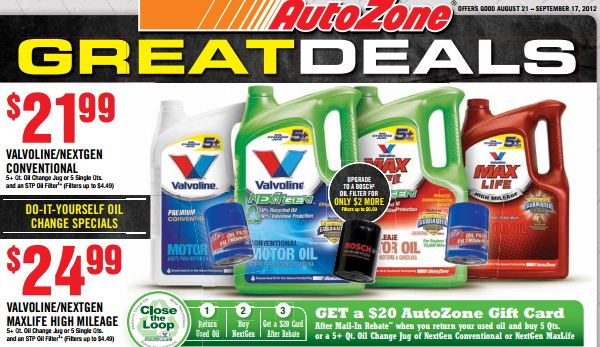 It works diy free or money maker oil change deal from autozone now solutioingenieria Images