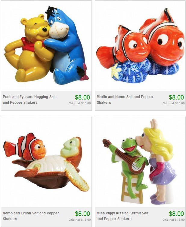 Disney Cookie Jars For Sale New Disney Salt Pepper Shakers Cookie Jar Sale Eeyore Nemo Kermit
