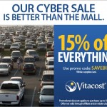 SAVE 15% OFF Everything at Vitacost + $10/$30 Coupon!!