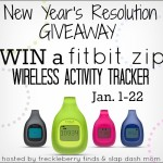 New Years Resolution Giveaway Win a FitBit Zip! US only ends 1/22