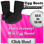 LAST Day to enter #Giveaway to Win Ugg's Boots! US only ends 12/18