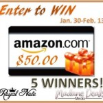 Enter for Chance to Win $50 Amazon GC US/CAN ends 2/13