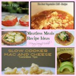 Meatless Meals recipes