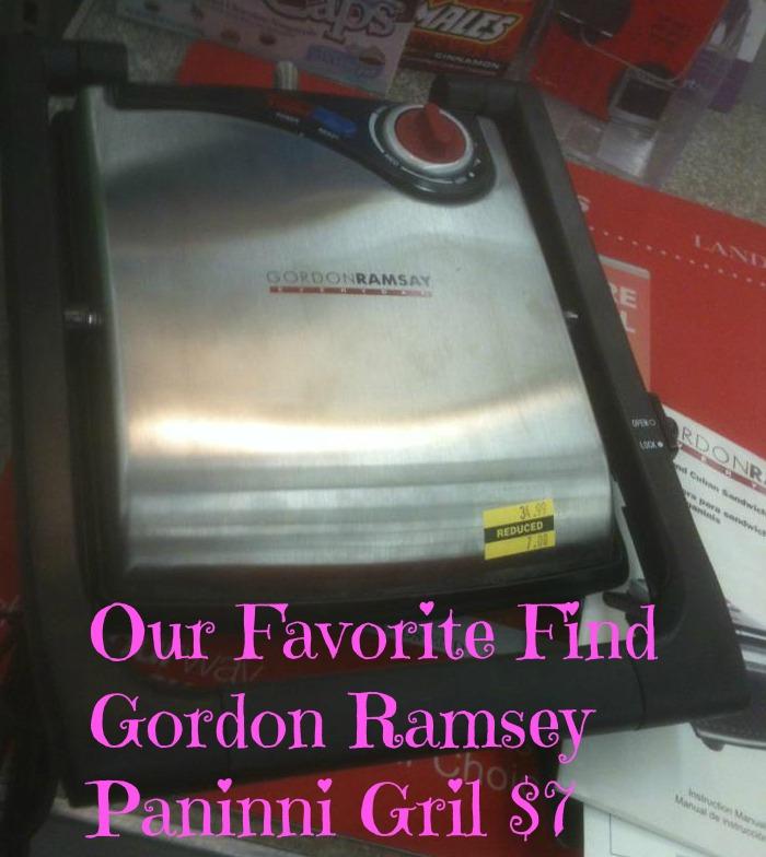 Gordon Ramsey Paninni Grill