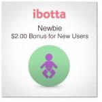 Ibotta New Member $2 Bonus Rebate!