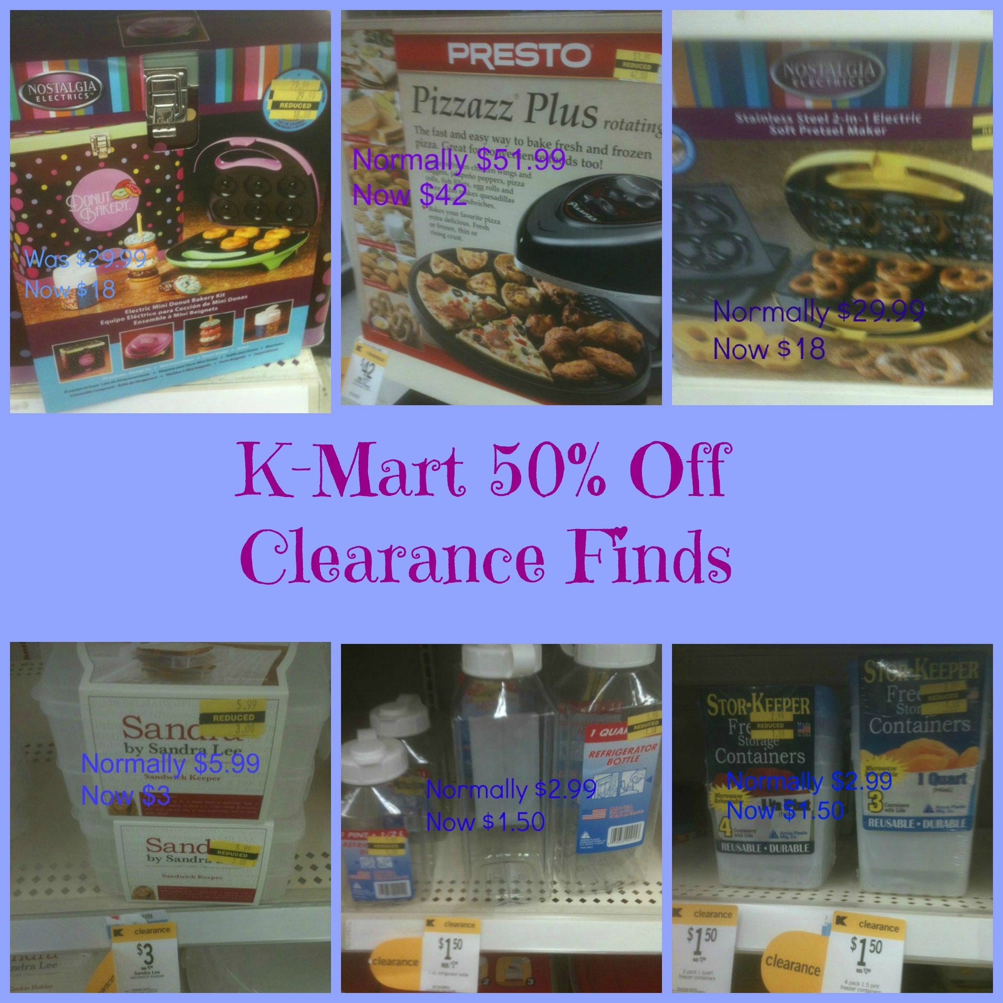 Kmart Clearance