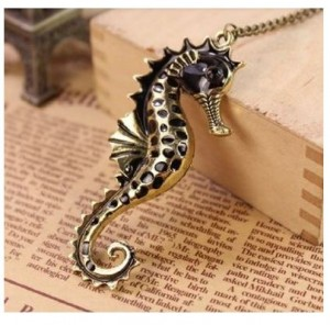 Vintage Sea horse Necklace
