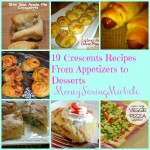 Crescent Recipes Appetizers to Desserts!!