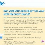 Kleenex in the Classroom Sweepstakes! Win for Your School!
