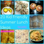 Kid Friendly Summer Lunch Ideas