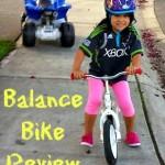 Jack & Josie Balance Bike Review