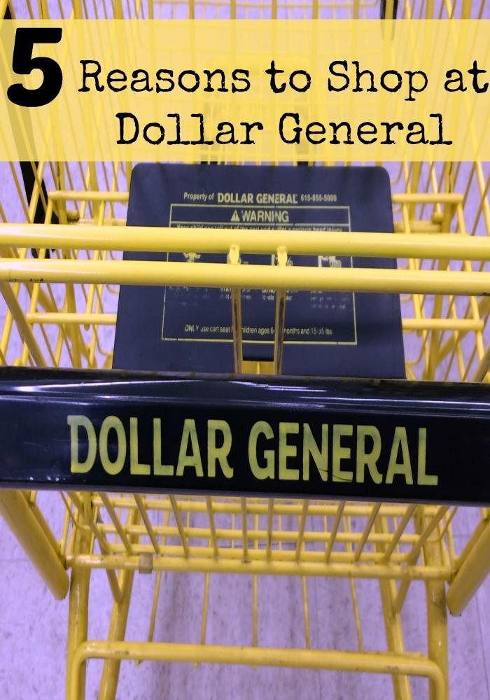 reasons to shop at dollar general