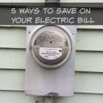 5 Ways to Save Money on Your Electric Bill