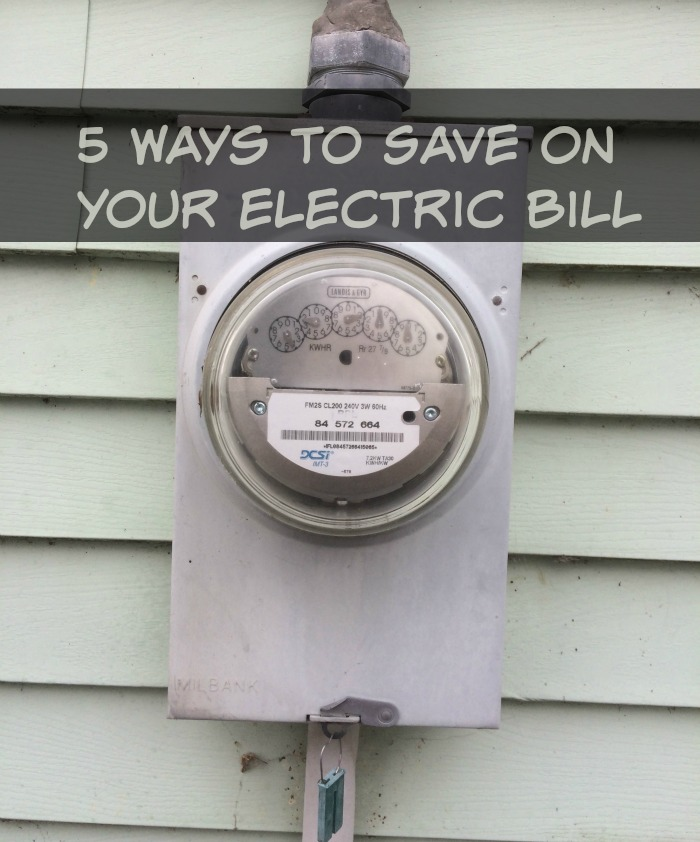 5 Ways to Save On Your Electric Bill
