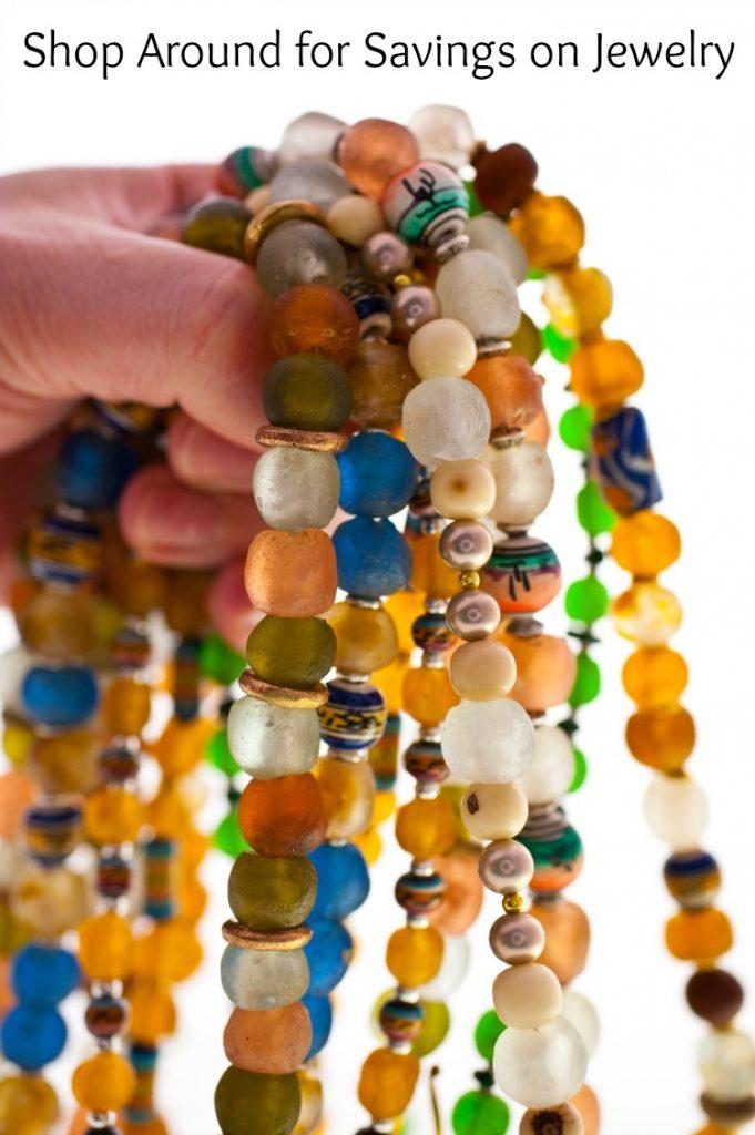 Shop Around for Savings on Jewelry